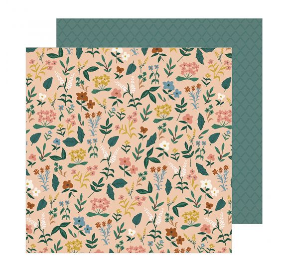 Papier double 30x30 'Crate Paper - Magical Forest' Meadow