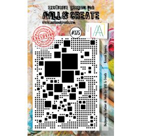 Tampon transparent 'AALL and Create' Reverse Squares