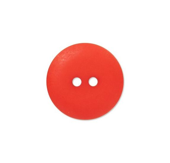 Bouton couture en Polyester '3B com' Rouge Mat 10mm