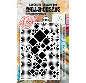 Tampon transparent 'AALL and Create' Reverse Diamonds 484