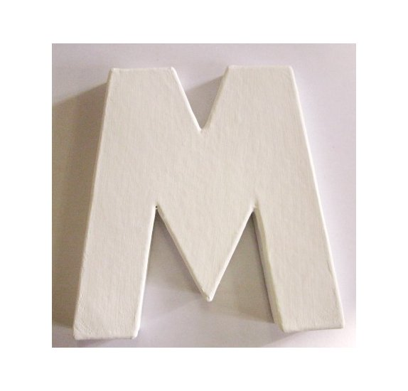 Mini lettre M - Decopatch