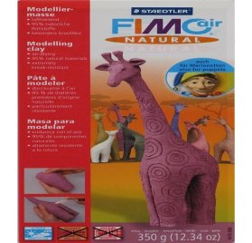 Fimo Air Natural - 350 g - Cerise