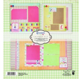 Kit Pages 30x30 - Fancy Pants - Childish Things