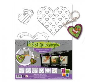 Plastique Dingue - PW International - Porte Clefs Coeur