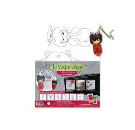 Plastique Dingue - PW International - Porte Clefs Kokeshis
