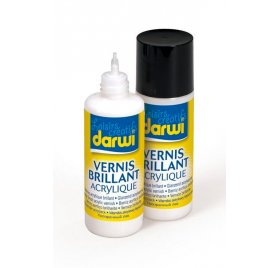 Vernis acrylique Darwi - Brillant - 80 ml