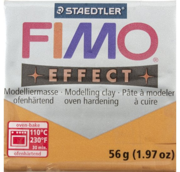 Pâte Fimo - Effect -  56g - Or